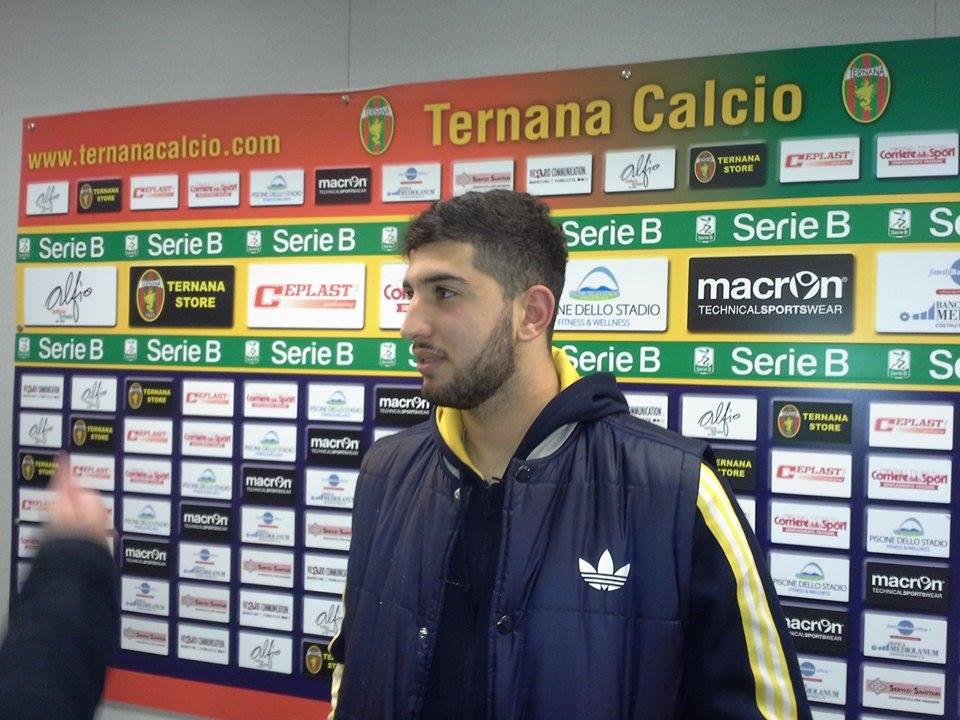 Ternana, primo gol in Serie A per l'ex Luca Crecco