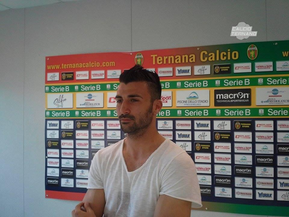 Benevento-Ternana, Fabio Ceravolo