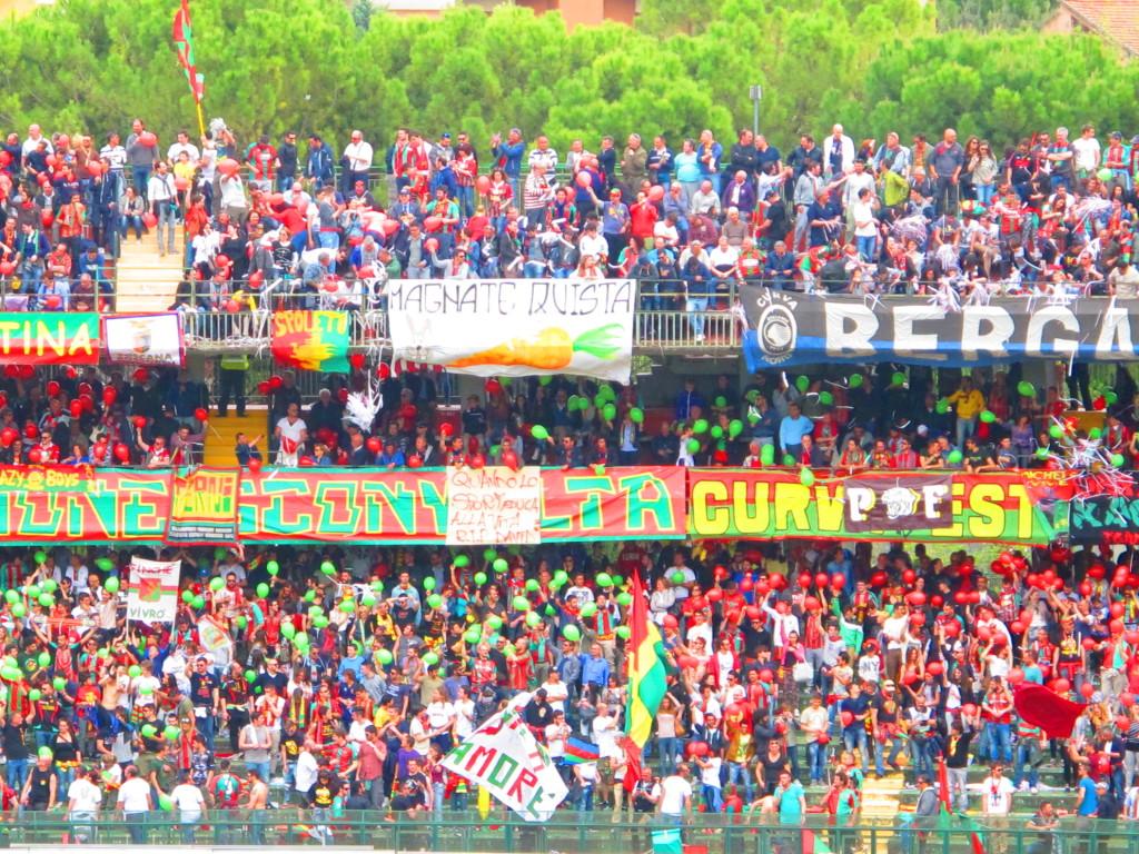Ternana-Perugia, domani inizia la prevendita per il derby