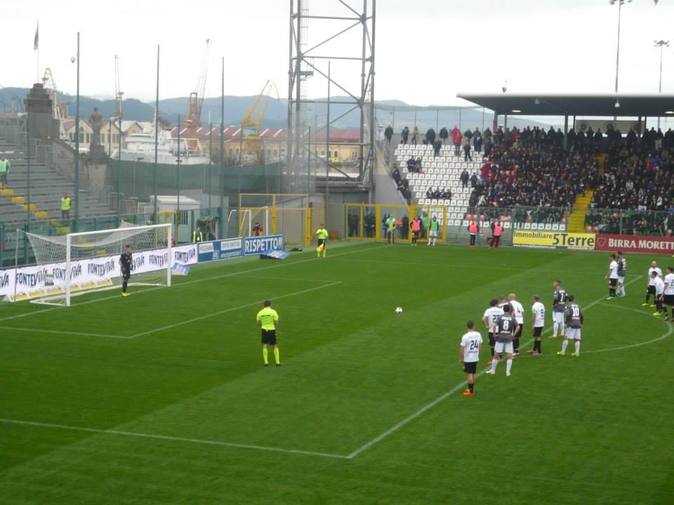 Spezia-Ternana, i precedenti dei rossoverdi al Picco