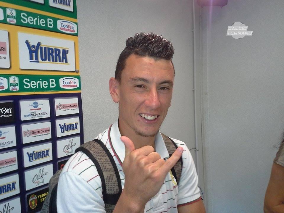 Ternana, esordio in Serie A per Cesar Falletti
