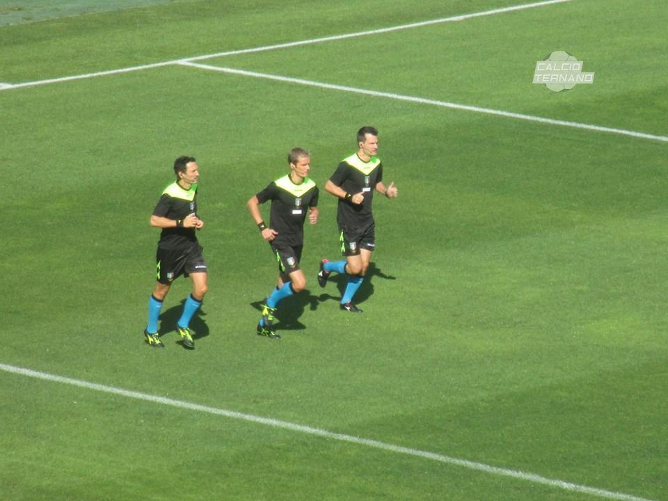 Ternana-Frosinone, l'arbitro della sfida tra rossoverdi e gialloblù