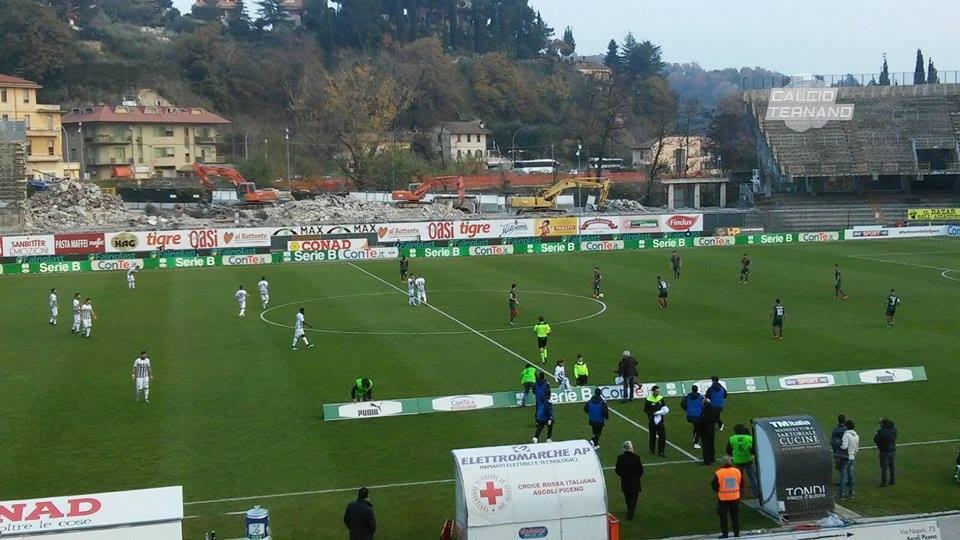 Ascoli-Ternana, tre bianconeri ai box