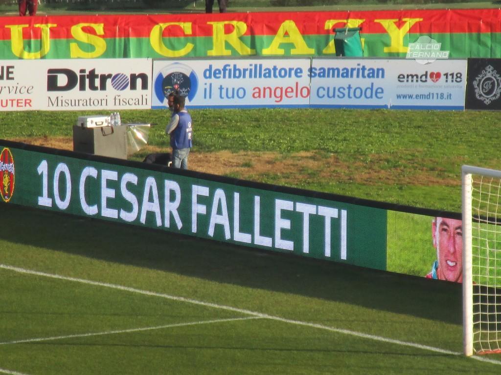 Calciomercato Ternana, Cesar Falletti