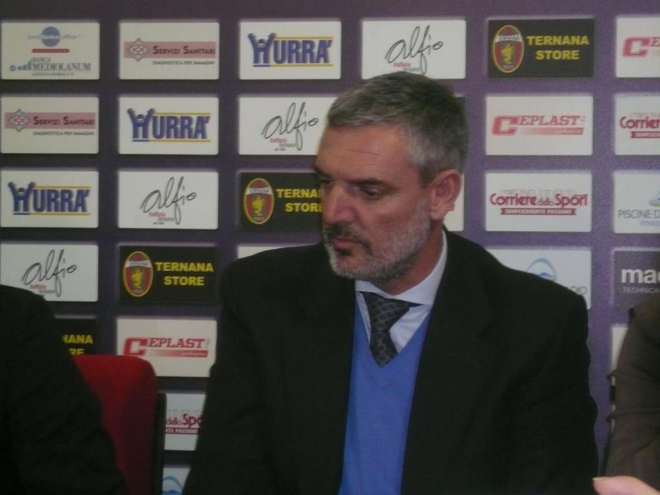 Ternana-Pescara, Guglielmo Acri 'Rossoverdi squadra maturata'