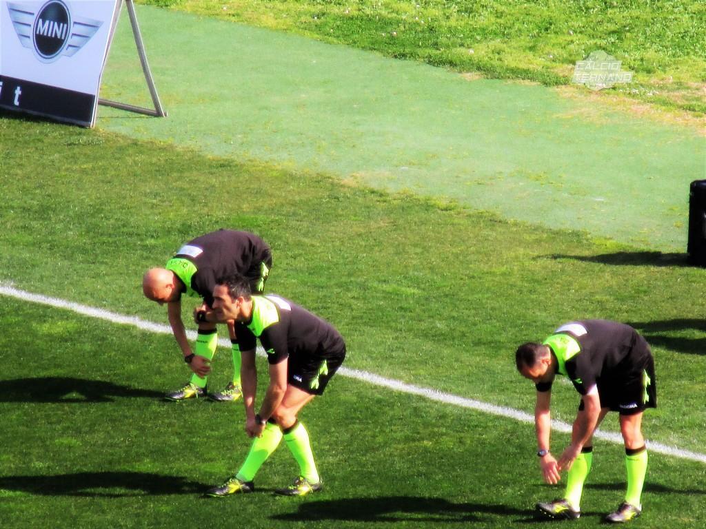 Pro Vercelli-Ternana, l'arbitro del match tra piemontesi e rossoverdi