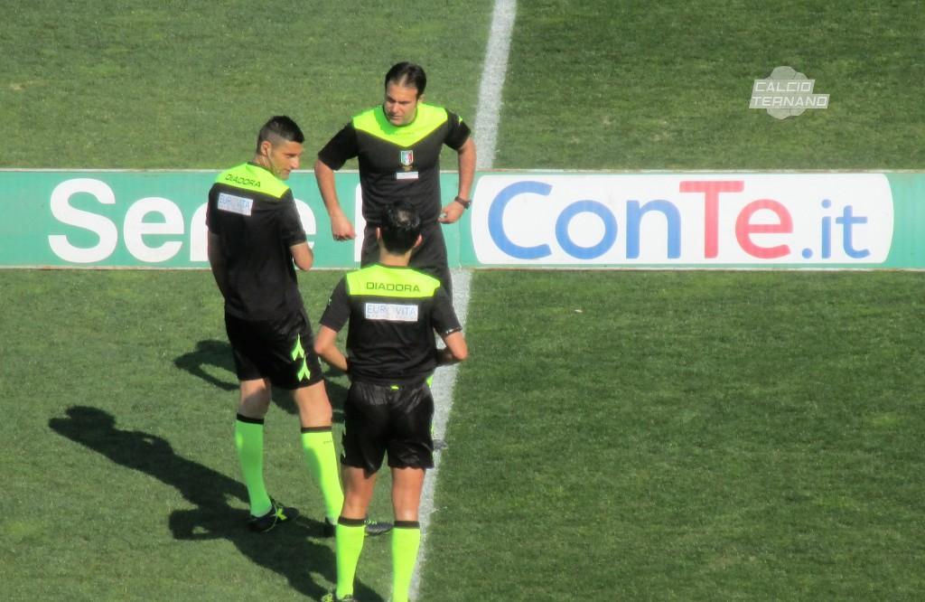 Ternana-Bari, l'arbitro del match dei rossoverdi