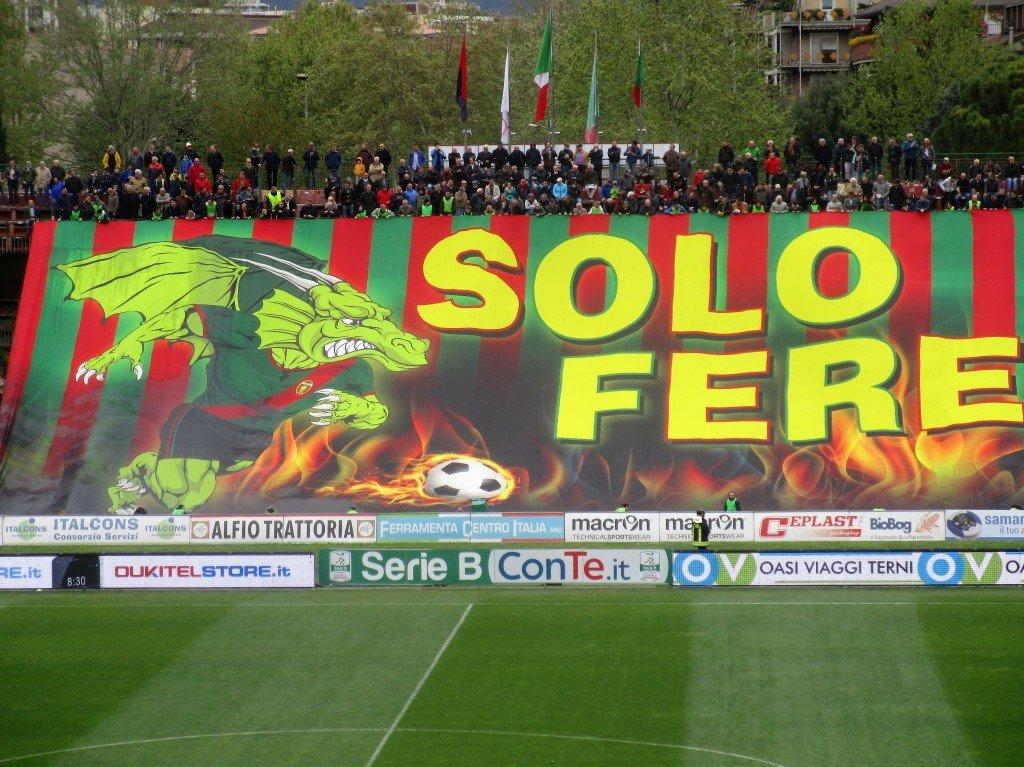 Ternana-Perugia, aggiornamento tagliandi venduti per il derby