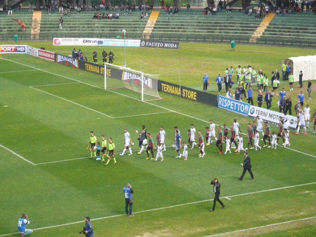 Ternana-Cesena, i precedenti allo stadio Liberati