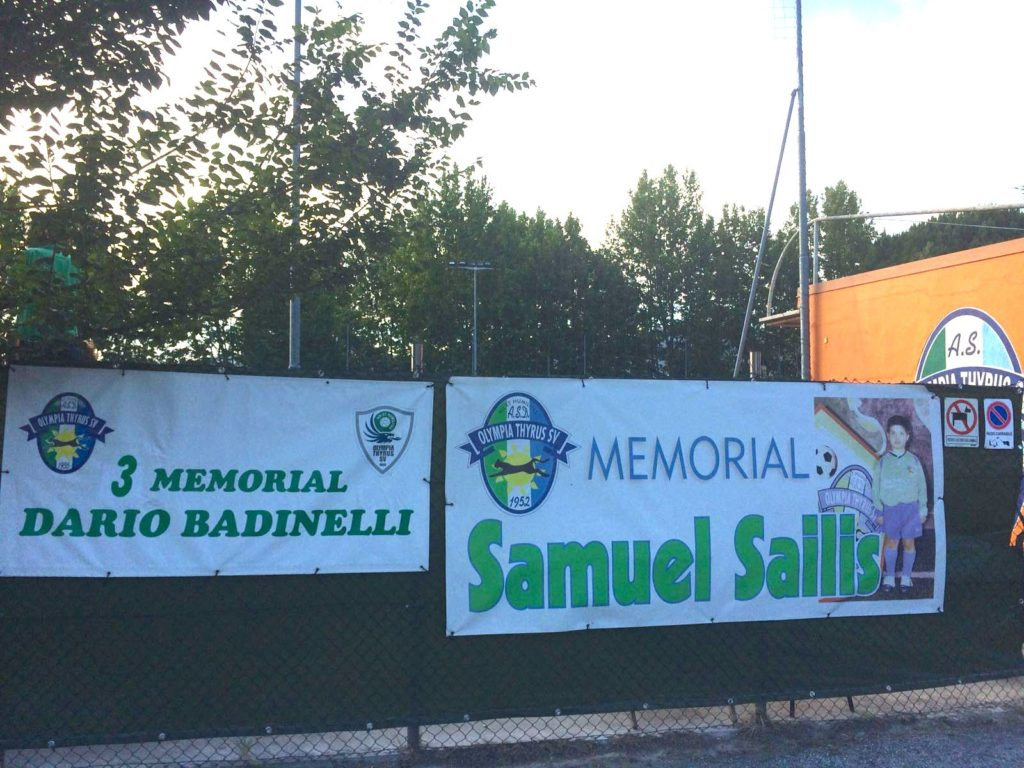 4^ memorial 'Dario Badinelli' e 8^ Trofeo 'Samuel Sailis'