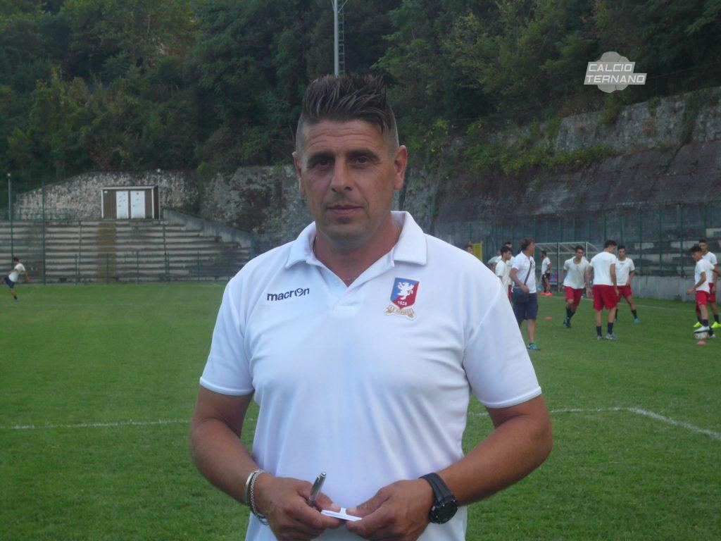Narnese, Marco Sabatini 'Un'emozione il ritorno in rossoblù'