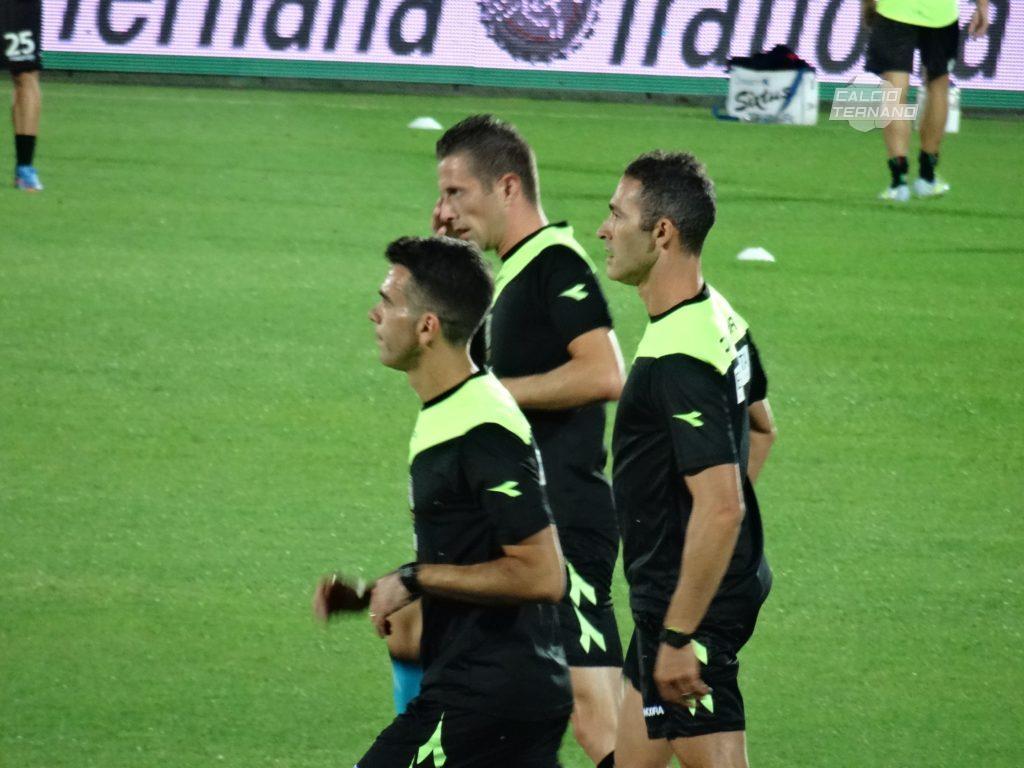 Ascoli-Ternana, l'arbitro del match dei rossoverdi
