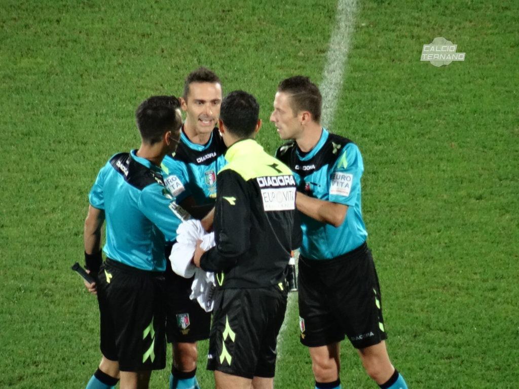 Ternana-Foggia, l'arbitro del match dei rossoverdi