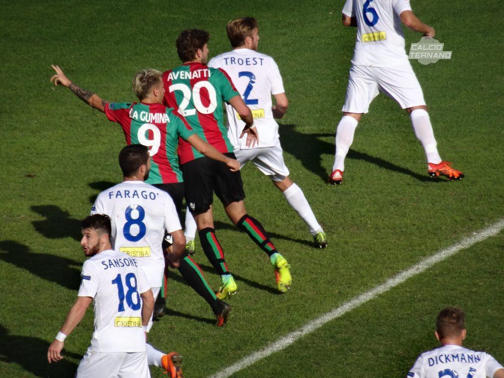 Ternana, sempre ricche di gol le partite Ternana-Novara