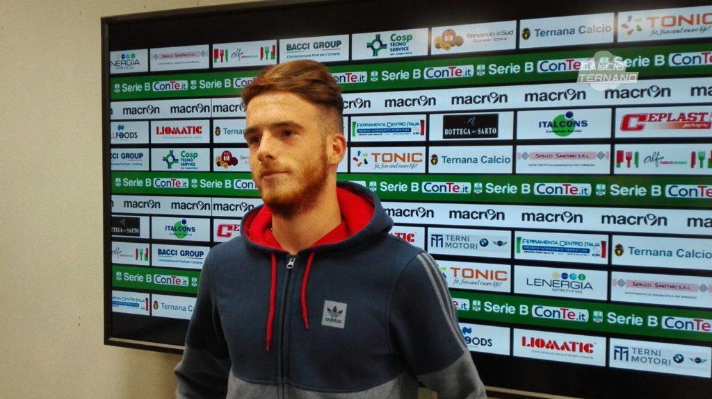 Lega Pro Ternana-Vis Pesaro, prima chiamata per Antonio Palumbo