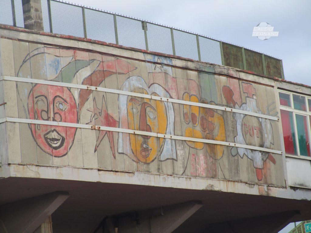 Ternana, al via il restyling dei murales del Liberati