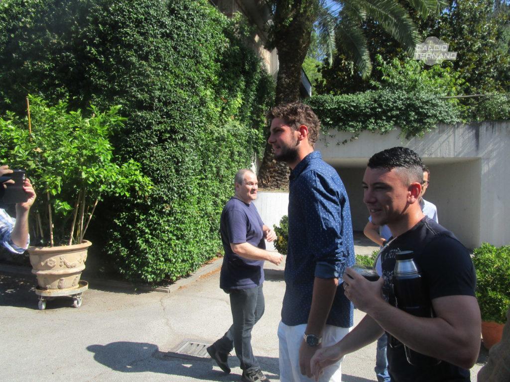 Ternana, nuovi test per l'ex Felipe Avenatti