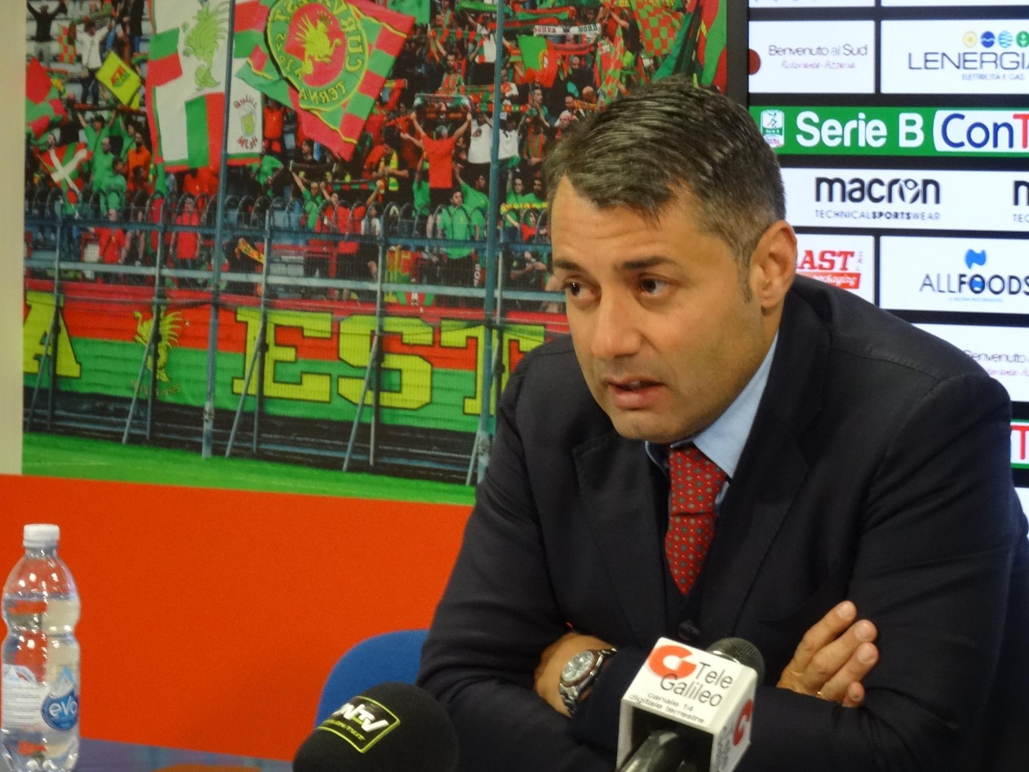 Ternana calcio, Danilo Pagni 'Ripartiamo nel migliore dei modi'