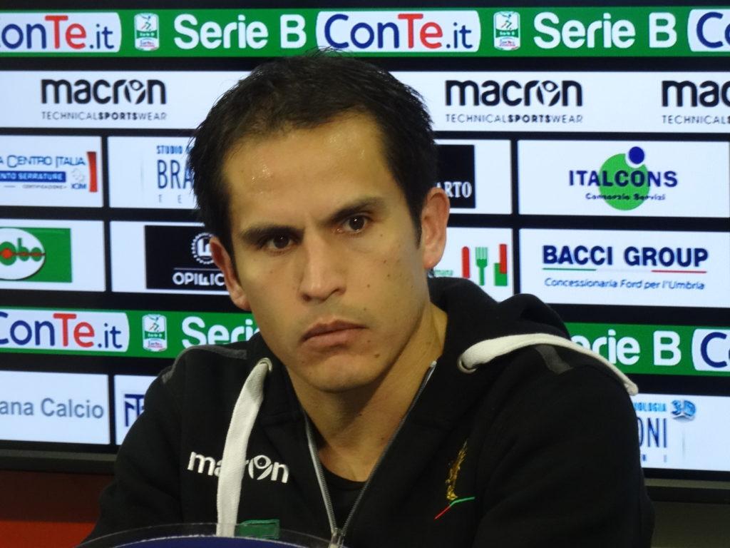 Benevento-Ternana, Cristian Ledesma