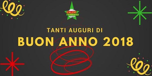 Buon 2018 da Calcioternano.it