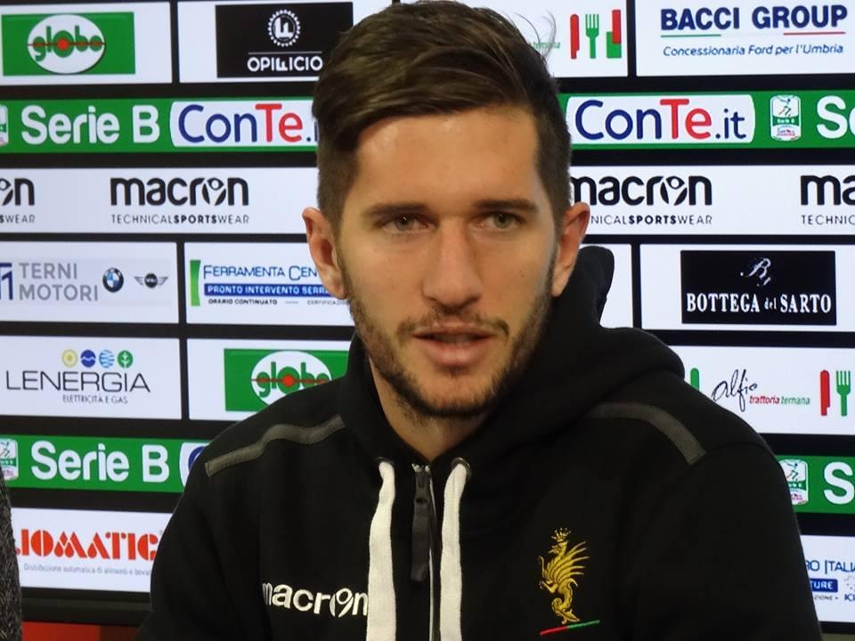 Vicenza-Ternana 0-1, Stefano Pettinari 'Abbiamo giocato con maggior personalità'