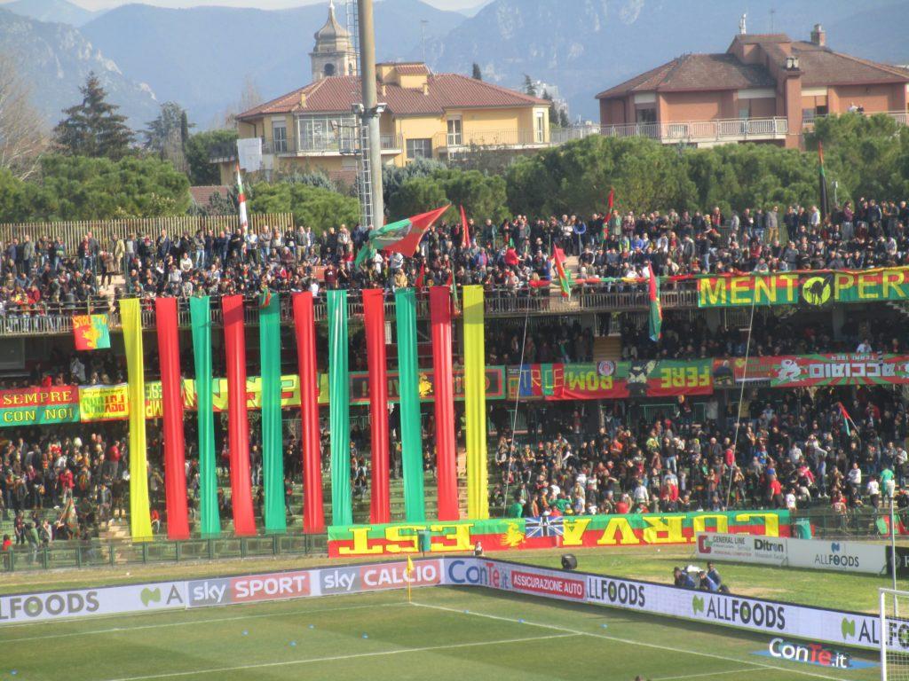 Ternana-Perugia, dato biglietti venduti per il derby