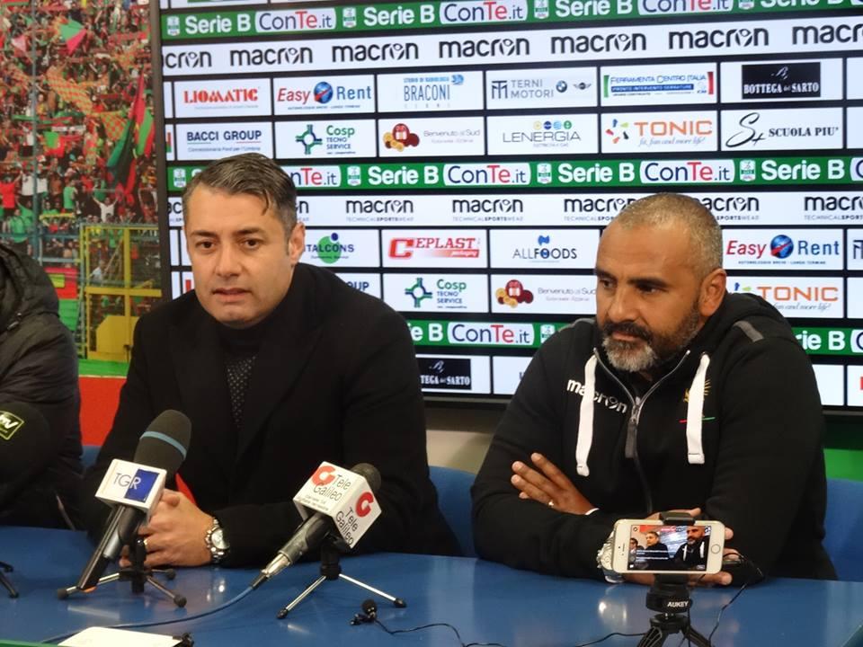 Ternana, un saluto speciale a Fabio Liverani