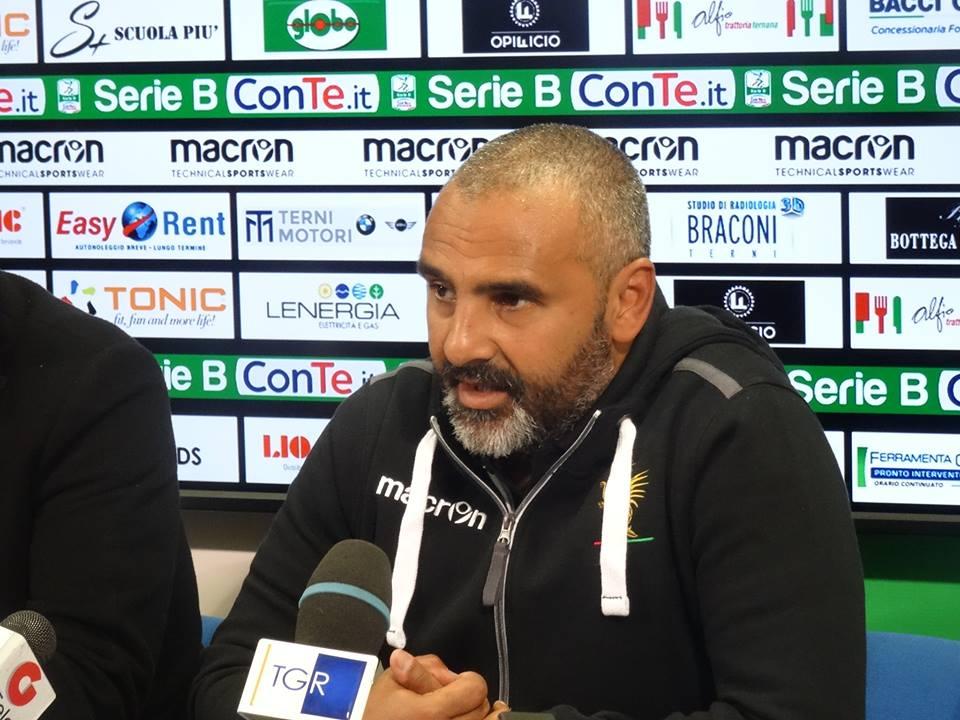 Benevento-Ternana, Fabio Liverani