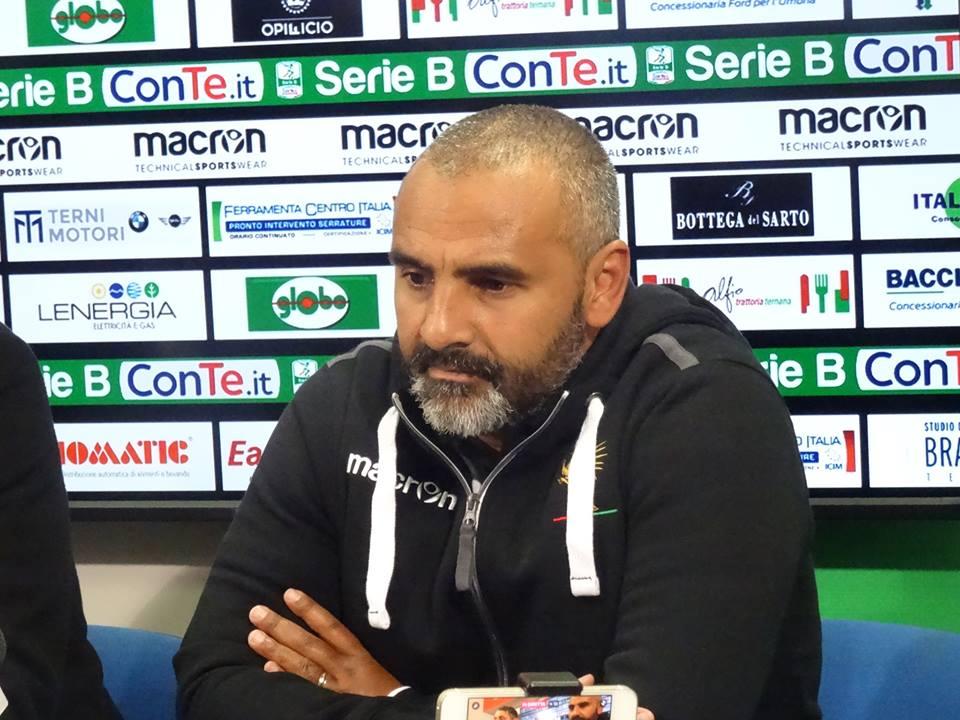 Ternana, la conferenza stampa di Fabio Liverani
