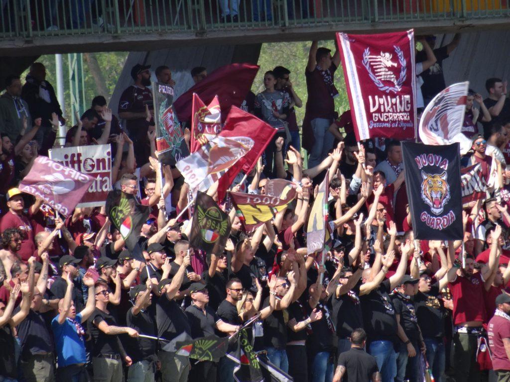 Ternana-Salernitana, trasferta libera per i sostenitori campani