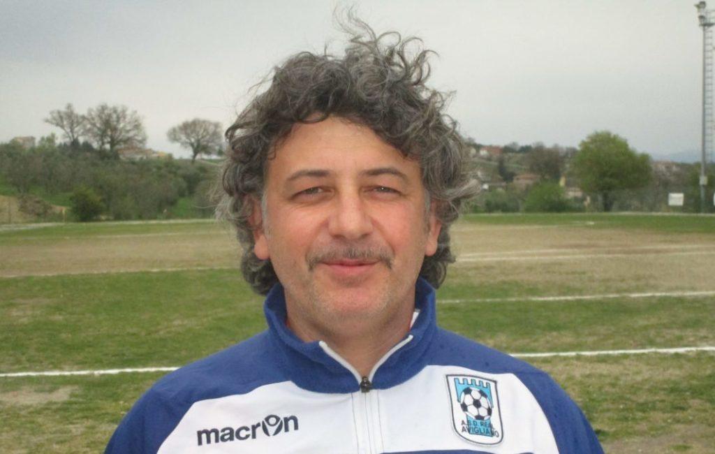 il tecnico della Real Avigliano Massimo Carlone