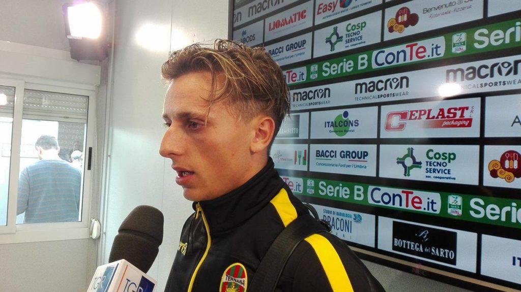 Calciomercato Ternana, l'ex Petriccione nel mirino del Brescia
