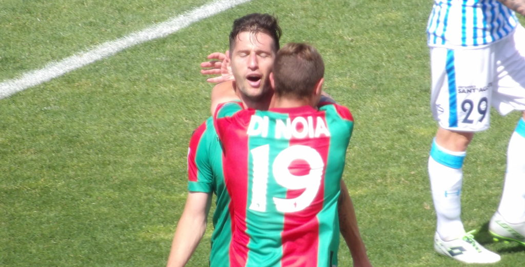 Ternana, il magic moment di Stefano Pettinari