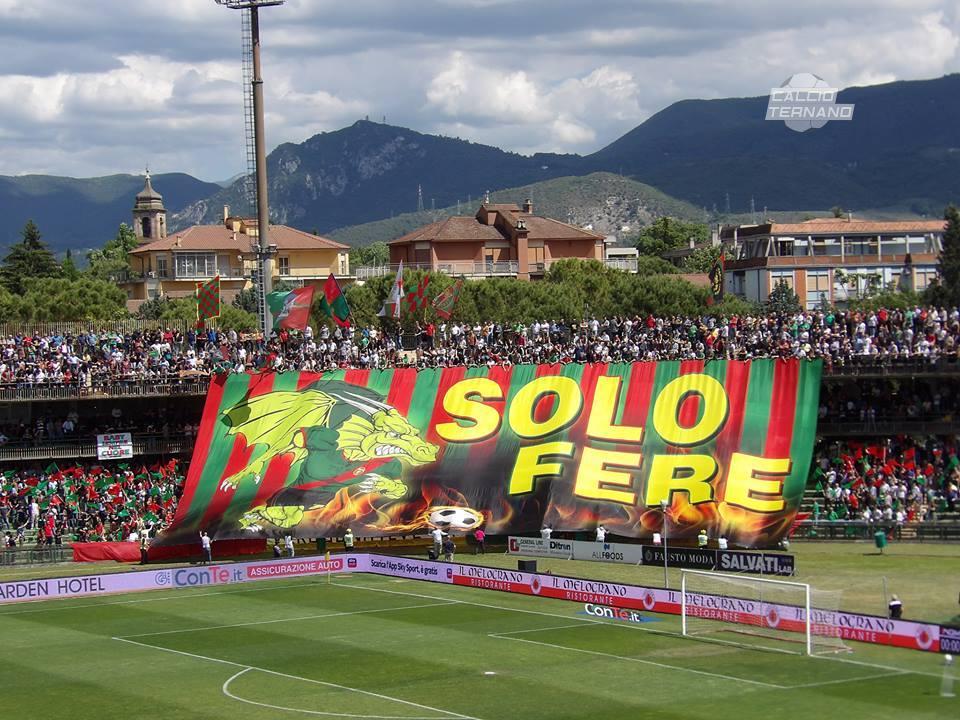 Ternana-Perugia, botteghini aperti anche il giorno del match