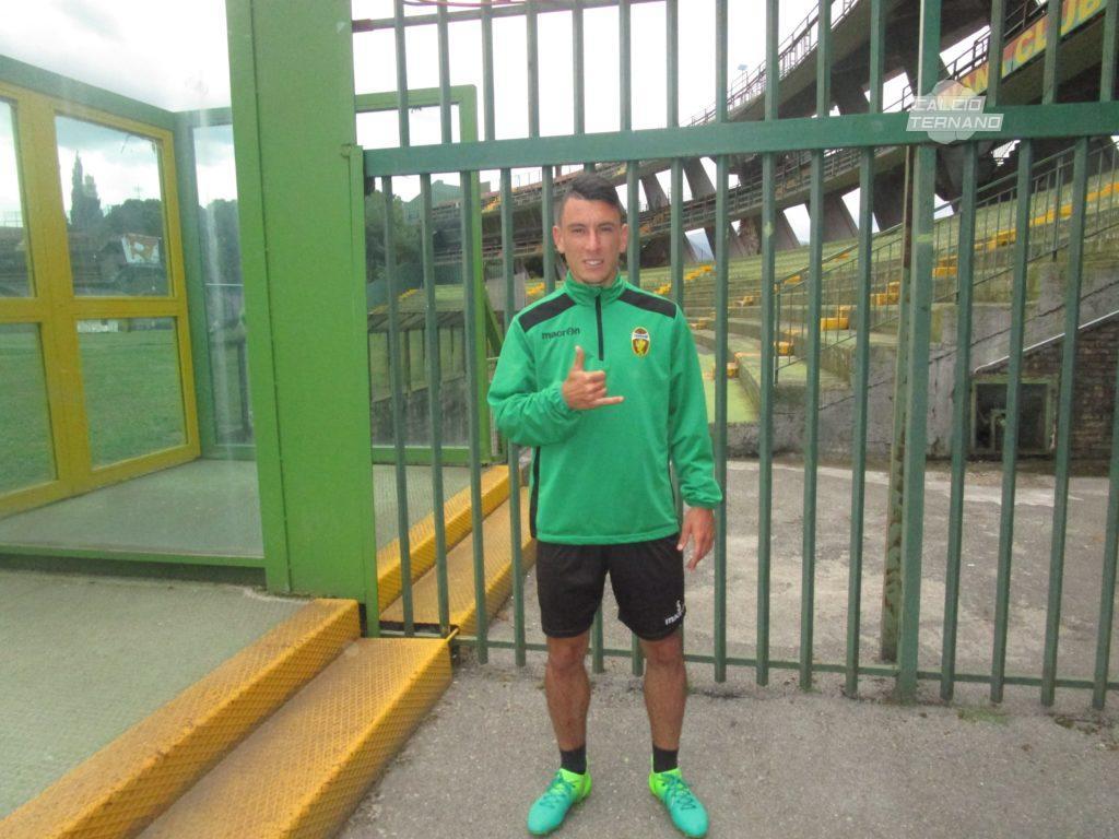 Ternana, due mesi di stop per l'ex Cesar Falletti
