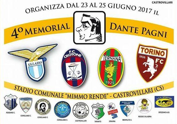 Ternana Settore Giovanile, rossoverdi presenti al IV Memorial 'Dante Pagni'