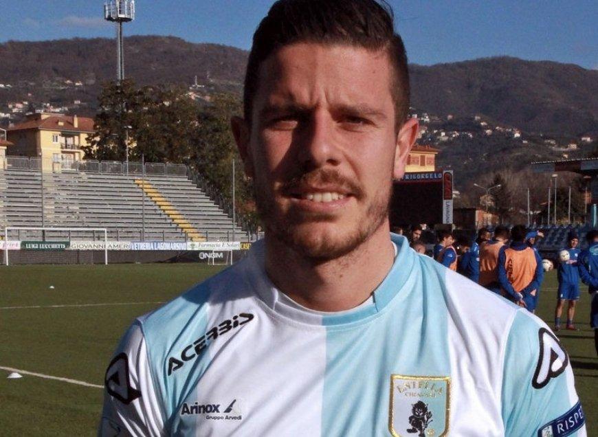 Serie B Entella, Andrea Catellani si ritira