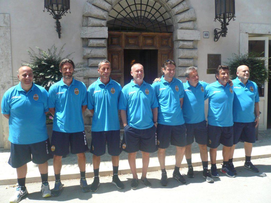 Ternana, le foto dello staff tecnico rossoverde
