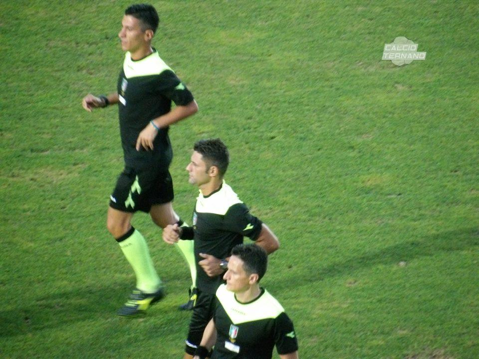 Lega Pro Girone B Ternana-Rimini, l'arbitro del recupero