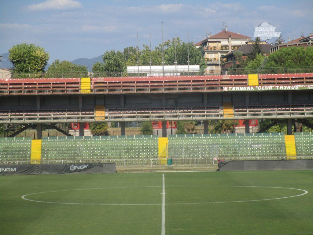 Ternana, foto dei lavori allo stadio Liberati