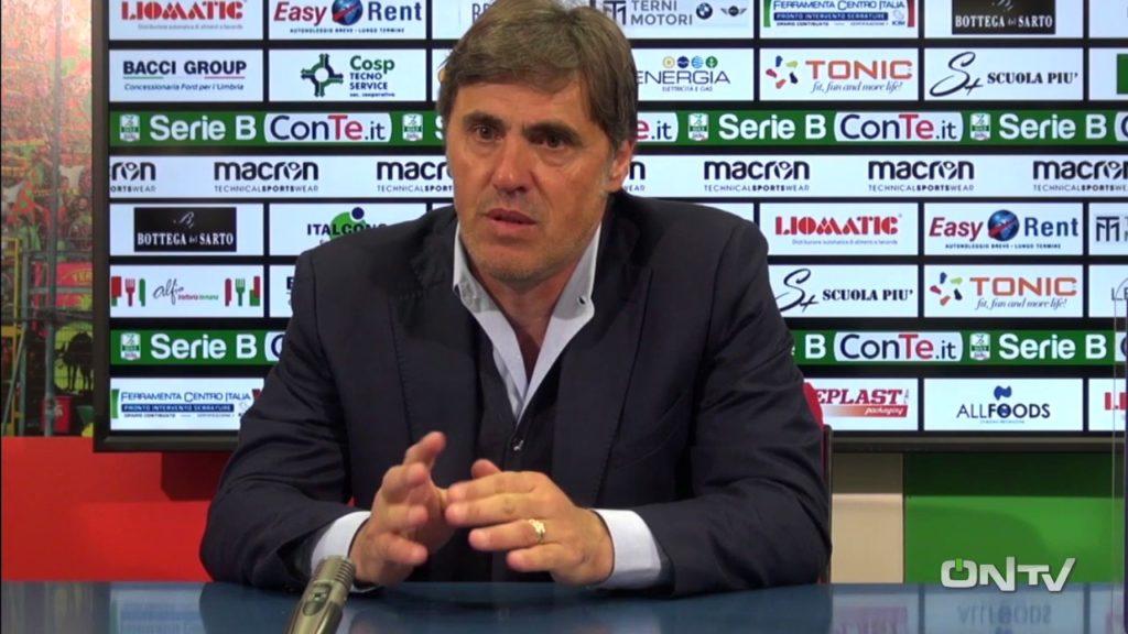 Ternana, Alessandro Calori nuovo tecnico dei rossoverdi
