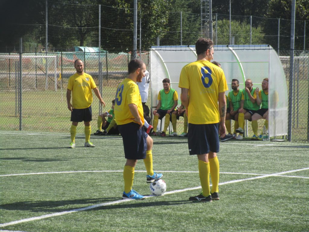 Ponte San Lorenzo-CTS Grafica 7-5, favola gialloblù e bel gesto finale