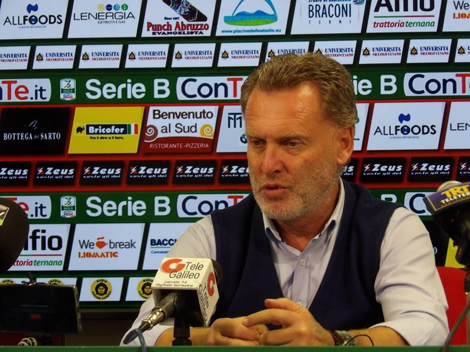 Ternana, conferenza stampa di Sandro Pochesci pre Ternana-Ascoli