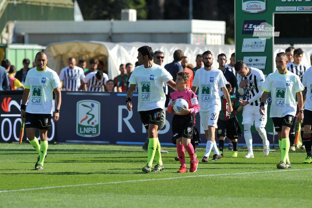 Ascoli-Ternana, due bianconeri saltano la sfida