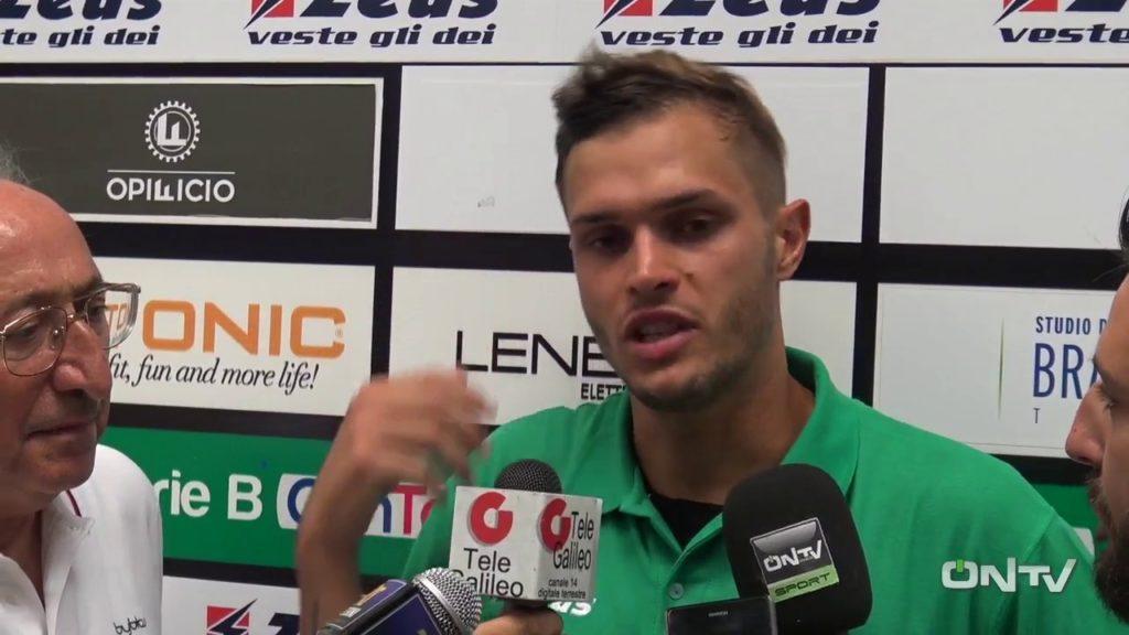 Spezia-Ternana, Mattia Finotto 'Gol frutto del lavoro in settimana'