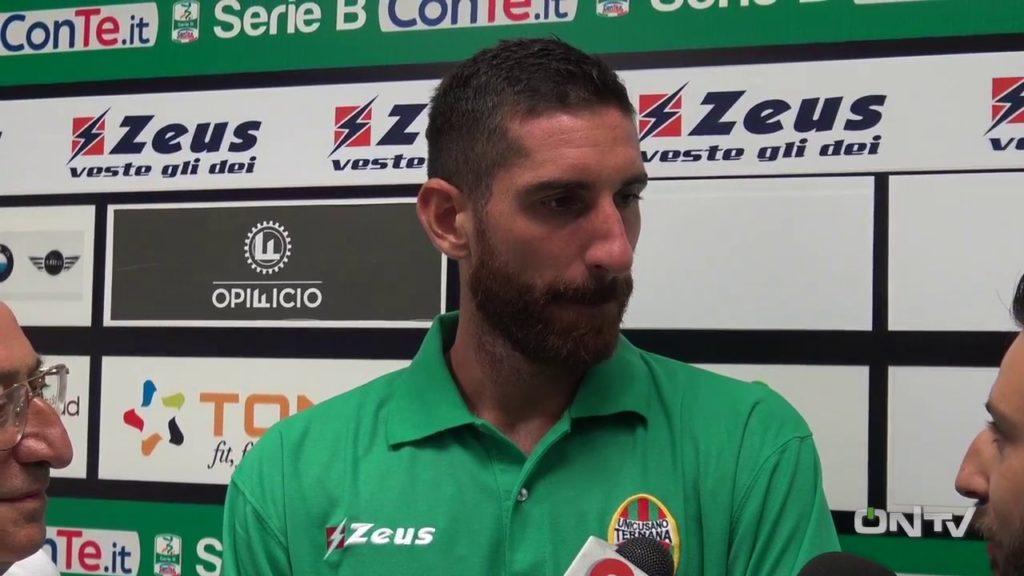Ascoli-Ternana, Daniele Gasparetto 'Fa male perdere con l'uomo in più'