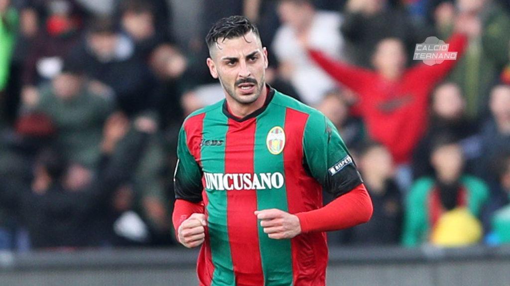 Ternana calcio, curioso primato per Adriano Montalto