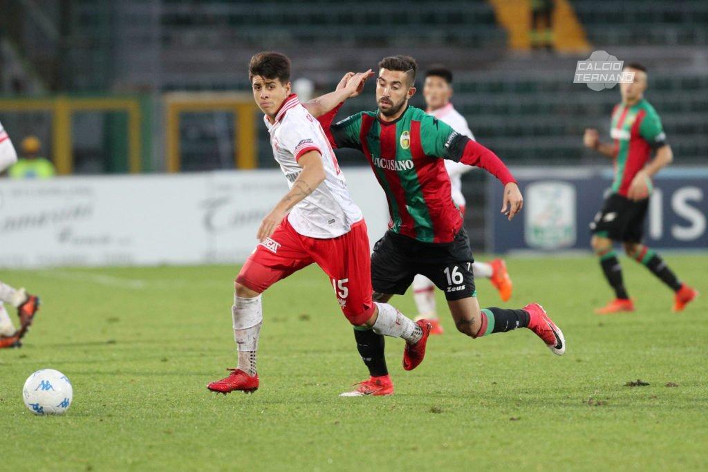 Calciomercato Ternana, cessione in vista per un rossoverde
