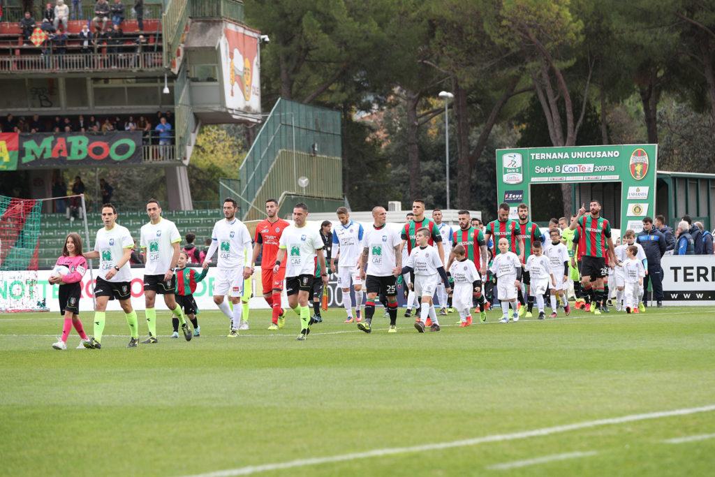 Ternana-Novara 1-1, rimonta rossoverde al Liberati