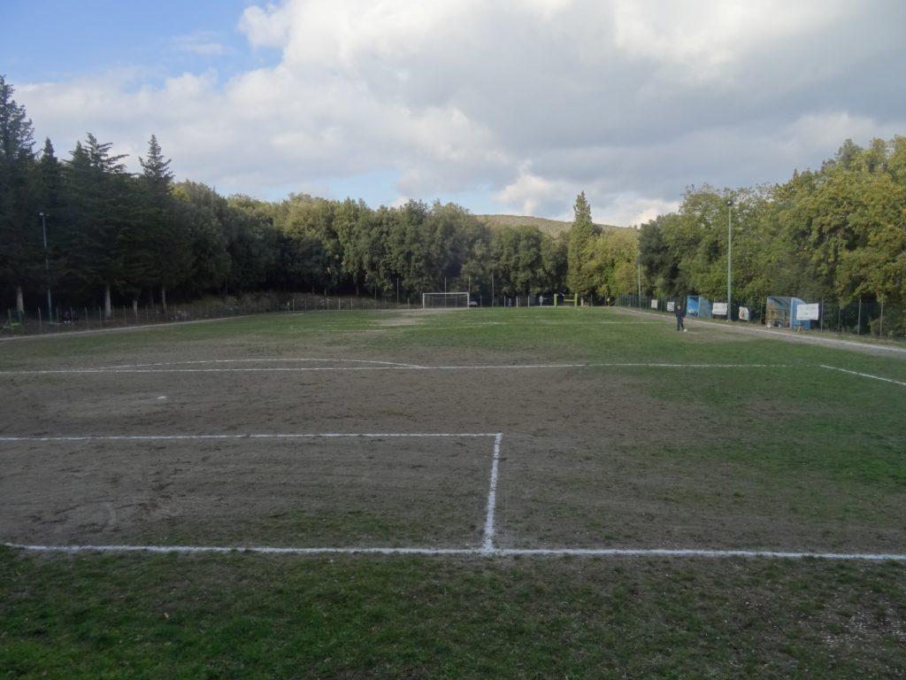 Porchiano-Castel Giorgio 0-1, invasione pacifica di un cane